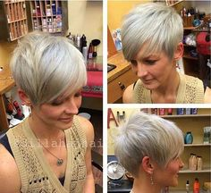 Pixie Cut Color