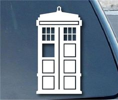 Doctor Who Tardis Stickers For Cars customstickershop.com Stickers For Cars