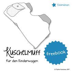 Kuschelmuff, Kinderwagenmuff nähen