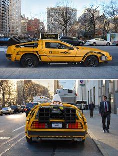 Dolorean Taxi
