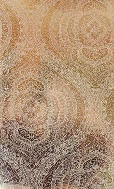 Shirazi Metallic Gold Foil Wallpaper