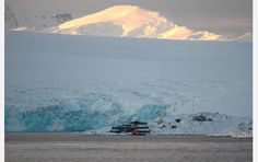Multimedia Gallery - Distant view of Palmer Station National Science Foundation, Mission Accomplished, Antarctica, Mount Rainier, June, United States, Ship, Adventure, Gallery
