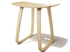 Contemporary style rocking plywood stool PAULA by sixay furniture