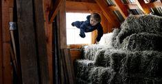 Fotógrafa Rachel Hulin retrata como seria se os bebês voassem http://uol.com/bfcr29