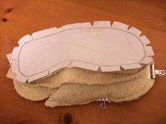 como hacer pantuflas reciclando 21