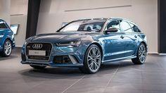 Audi RS6 Polarblau