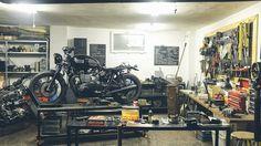www.kat.io - Can Uzer & Mert Uzer - Custommotorcycle , Garage, Istanbul Turkey #custom #motorcycle #caferacer #oldmotorcycle #garage