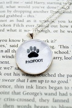 Padfoot Harry Potter Fandom Necklace Curious by CuriousOwlDesign, £7.99
