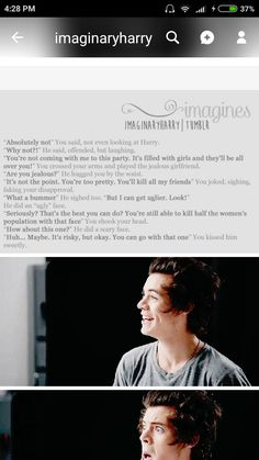 Kill me with harry styles imagines