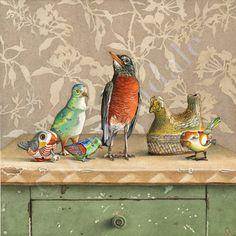 Cori Lee Marvin watercolours. LOVE HER WORK!!