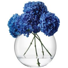 Large Globe Vase (2 775 UAH) ❤ liked on Polyvore featuring home, home decor, vases, flowers, fillers, decor and accessories