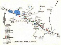 Hillcrest Mine and Lundbreck Falls - Crowsnest Pass, Alberta, Canada Alberta Travel, Coal Mining, Celebration Quotes, Canadian Rockies, New York Travel, Death Valley, Alberta Canada, Canada Travel, Guide Book