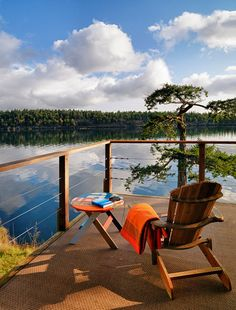Any kind of deck would be wonderful in this spot!  by Johnson + McLeod Design Consultants