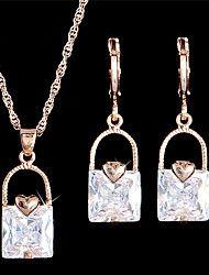 Joyas Collares / Pendientes Collar / pendientes / Los sistemas nupciales de la joyería / Conjunto De Moda / Cosecha / AjustableBoda /