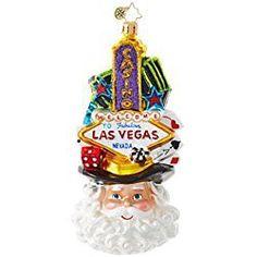 christopher radko 1018947 viva las vegas state christmas ornament new 2017 free usa shipping in stock