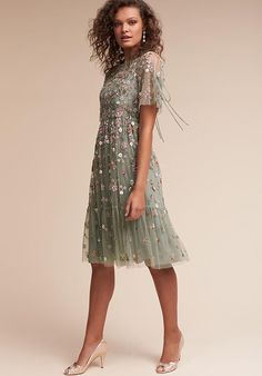 BHLDN (Mother of the Bride) Bobbi Green Mother Of The Bride Dress