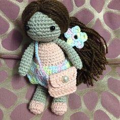 Amigurumi doll designed by me