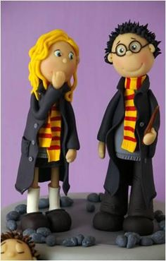 Harry Potter Figurines by Leonie van Goor & Femke Then Siethoff Sipma (Ons boek: The Making of)