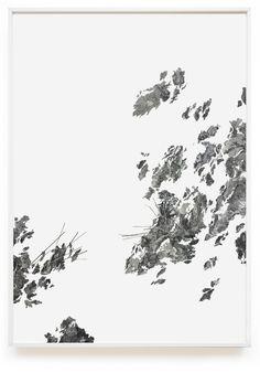 Les relèves sécantes - Claire Trotignon  Collage gravure et sérigraphie 180 x 126 cm Collection privée 2015