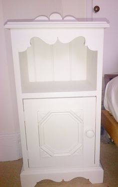 Furniture Commissions - The White Approach Nightstand, Bedside, Hand Painted Furniture, Diy On A Budget, House Design, Interior Design, House Styles, Table, Projects