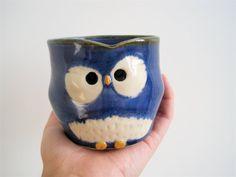 Owl Mug want want want