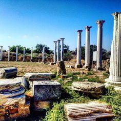 The ancient city of Salamis, Famagusta area, North Cyprus/starożytne miasto Salamis, okolice Famagusty, Północny Cypr