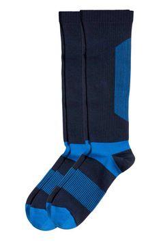 2 pares calcetines de footing