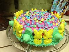 Tie-Dye Easter Cake