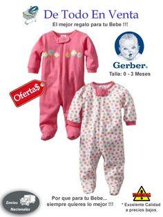 Pijamas para Bebes Gerber