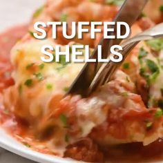 """The Best Italian Stuffed Shells 