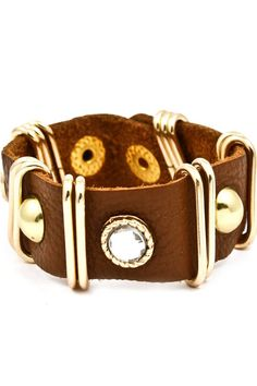 Brown Leather Wrap $28.50