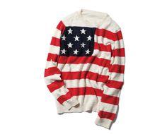 Stars & Stripes Crew Neck Knit