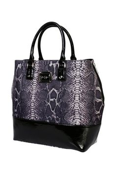 Printed Python 20 Travel Tote - Neutral by Jessica Simpson Luggage on @HauteLook