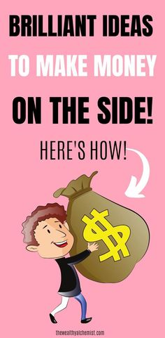 Need to make some money on the side but don't know where to start? We've put together an epic list of side hustles just for you! Earn More Money, Earn Money Online, Make Money Blogging, Make Money From Home, Way To Make Money, Money Fast, Fast Cash, Best Money Saving Tips, Money Tips