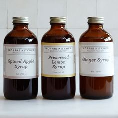 Morris Kitchen Ginger Syrup