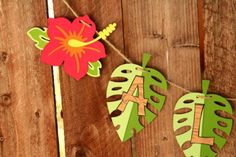 Luau Party Decorations by fairyfabs