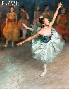 Misty Copeland stars in Harper's Bazaar US' March issue performing ballet