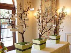 Wedding, Centerpiece, Branches