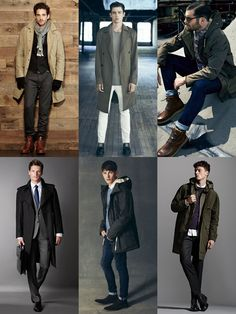 The Menswear Autumn Survival Kit - The Raincoat Lookbook Inspiration