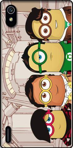 Cover Minions mashup Big Bang Theory per Huawei Ascend P7