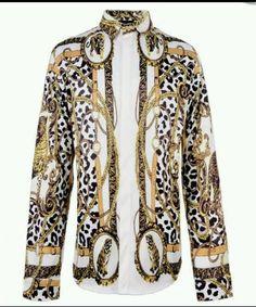Versace Baroque Shirt Size Medium - 2XL Men Shirts, Shirt Men, Casual  Shirts, c2bc364a19f