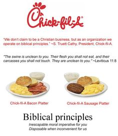 Chick-Fil-A's Blinding Hypocrisy Revealed In One Simple Picture