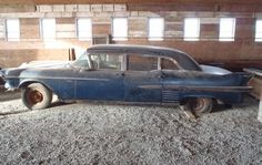 1958 Cadillac Limousine: Long Barn - http://barnfinds.com/1958-cadillac-limousine-long-barn/