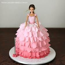 Barbie and frills....an idea!