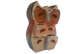 Gama SECRETOS madera pino gallego BUHO 6 CAJONES en TUMERLOC.es