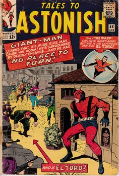 Tales to Astonish 54 Giant-Man Wasp silver age marvel comics group Marvel Comics, Marvel Comic Books, Comic Book Characters, Marvel Vs, Marvel Characters, Silver Age Comics, Studio Logo, Tales To Astonish, Hulk Comic