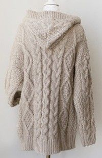 To find out about the Light Coffee Hooded Long Sleeve Cardigan Sweater Coat at SHEIN, part of our latest Sweaters ready to shop online today! Sweater Coats, Wool Cardigan, Cable Knit Sweaters, Crochet Coat, Knitted Coat, Knit Jacket, Pull, Knitwear, Knitting