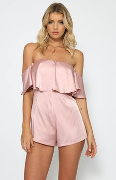 Bloomfield Playsuit - Pink from peppermayo.com
