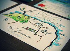 christina + jacob map