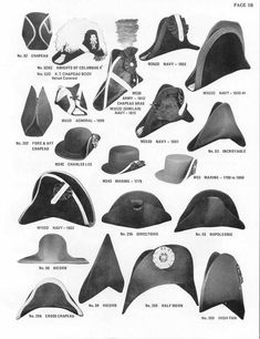 history of french naval hats - Bing images Historical Costume, Historical Clothing, Mode Costume, Retro Mode, Pirate Hats, Pirate Life, Fancy Hats, Mode Masculine, Hat Hairstyles